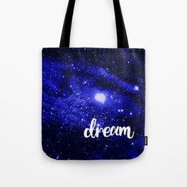Blue Galaxy Dream Tote Bag