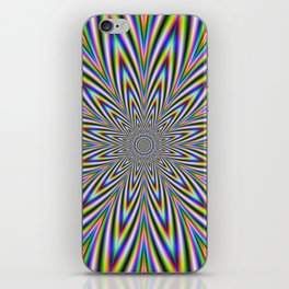 Psychedelic Star iPhone Skin
