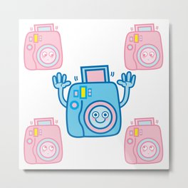 We are watching you. Say Cheese!!! Metal Print