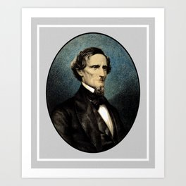 Jefferson Davis Art Print