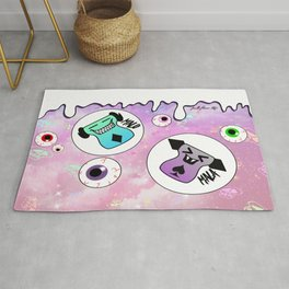 Malo and Mala in Space Rug