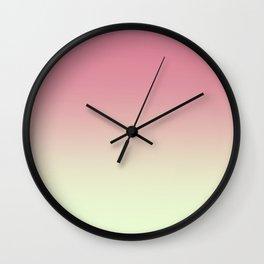 Strawberries & Cream Wall Clock