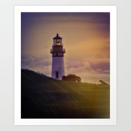 Light In The Clouds Art Print