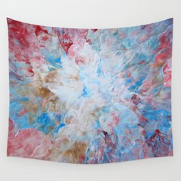 Flower In Abstract 1 Wall Tapestry