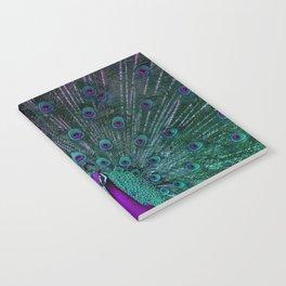 BLOOMING PEACOCK Notebook