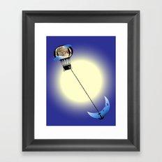 Catch the Moon Framed Art Print