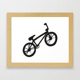 Bike black & white  Framed Art Print