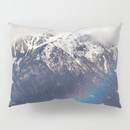 Rainbow and mountains after the storm Pillow Sham