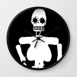Mexican skull Wall Clock
