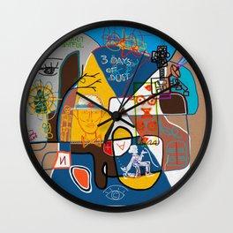 A DISPLAY OF THE DISTANCE BETWEEN MEN & WOMEN Wall Clock