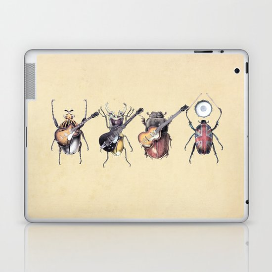 Meet the Beetles Laptop & iPad Skin
