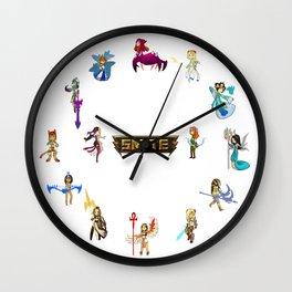 Chibi SMITE Goddesses Wall Clock