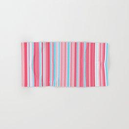 Stripe obsession color mode #5 Hand & Bath Towel