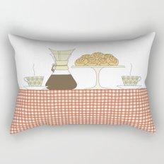 have a fika with me Rectangular Pillow