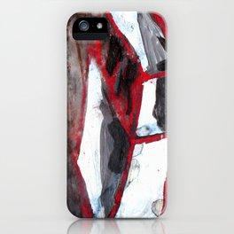 red match box iPhone Case
