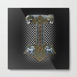 Tribute to Thor Metal Print