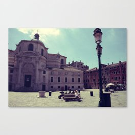 Lazy Venice Canvas Print