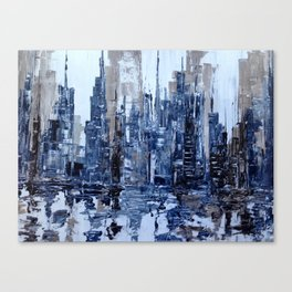Dream in blue Canvas Print