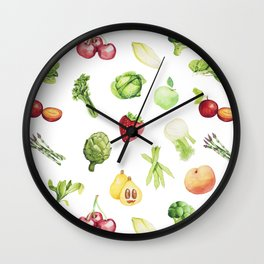 May orchard Wall Clock