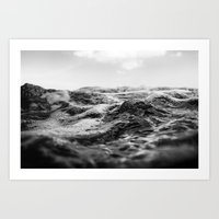 salt water Art Prints featuring Salt Water by Andre Joaquim