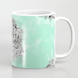 Floral brooch Coffee Mug
