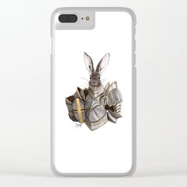 Carrot Knight Clear iPhone Case