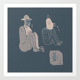 Plague Mask Art Print