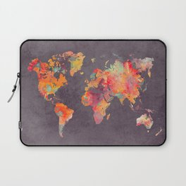 world map 67 Laptop Sleeve