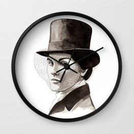 Lady Mary Wall Clock