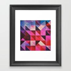 hyppy byrthdyy Framed Art Print