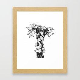 "Native Texas Plants ""T"" Framed Art Print"