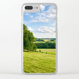 The South Downs Clear iPhone Case