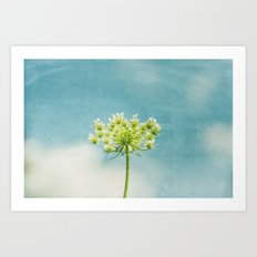 Under A Sky So Blue Art Print