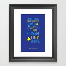 Dory Framed Art Print
