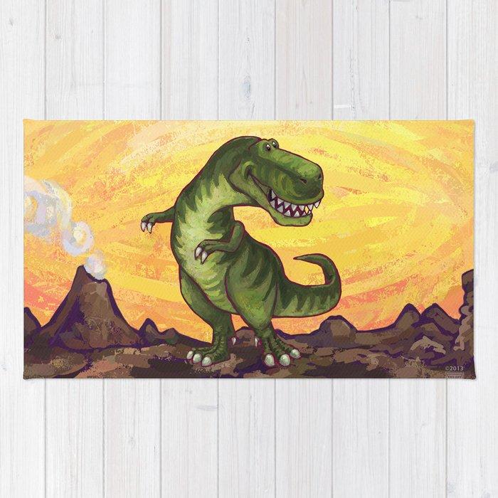 Animal Parade Tyrannosaurus Rug