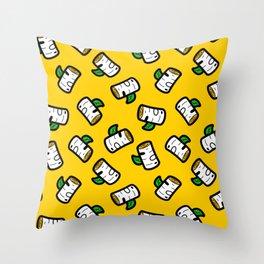 Beau Boulot Throw Pillow