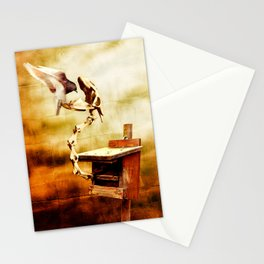 Feeding the Dragon Stationery Cards