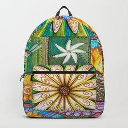 Bursting Daisy Backpack