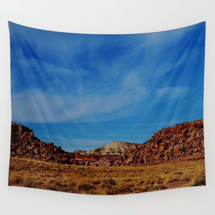 Wandering the Desert II Wall Tapestry