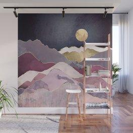 Raspberry Dream Wall Mural