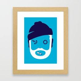 Zissou ... Framed Art Print