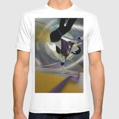 B-Boy MEDIUM Mens Fitted Tee White