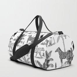 botanical jungle Duffle Bag