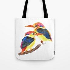 Kingfisher IV Tote Bag