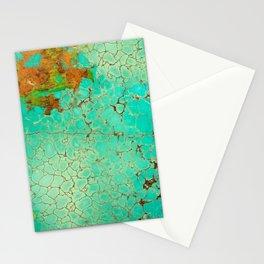Crackeled Turquoise Stone Stationery Cards