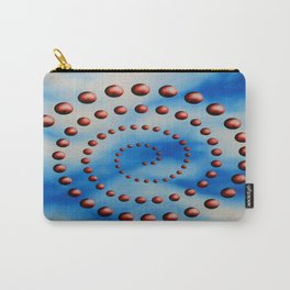 Spiral reincarnation oil painting Carry-All Pouch