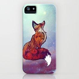 Space Fox iPhone Case