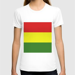 Bolivia flag T-shirt