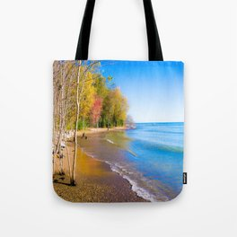 Somewhere Baby Tote Bag