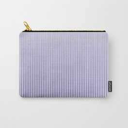 Basic stripes pattern - lilac. Carry-All Pouch